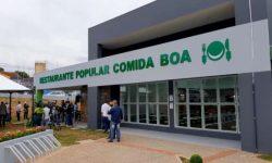 Inauguração do novo restaurante popular em Cascavel