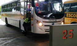 Vistoria dos ônibus do transporte escolar rural ocorre hoje e amanhã