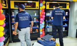 A Receita Federal realiza operação de combate ao Contrabando