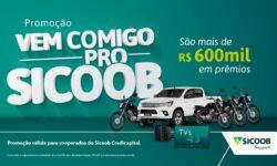 Em comemoração aos seus 20 anos, Sicoob Credicapital lança campanha com mais de R$ 600 mil em prêmios
