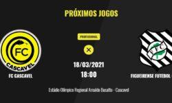 FC Cascavel joga em casa quinta-feira (18) pela Copa do Brasil