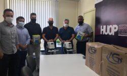 Huop cede equipamentos à Secretaria de Saúde do município para combate da Covid-19