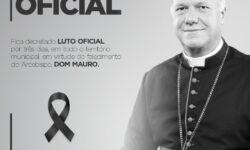 Paranhos decreta luto oficial pela morte de Dom Mauro