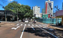 Transitar coloca em alerta piscante hoje (9) o novo semáforo da Rua Paraná x Engenheiro Rebouças