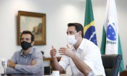 Governador Ratinho Junior destaca campanha de vacinação e abertura de leitos