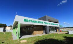 Restaurantes populares voltam a funcionar na quarta feira