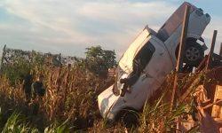 Identificado Motorista da L200 morto em acidente na estrada Rural de Toledo