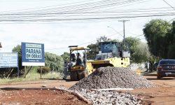 Obras melhoram vias públicas na região do Bairro Neva