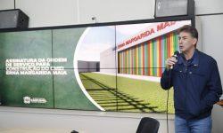 Paranhos assina ordem de serviço para construção de Cmei no Universitário