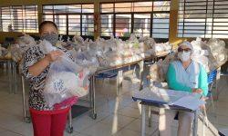Escolas estaduais fazem a sétima entrega de alimentos do ano