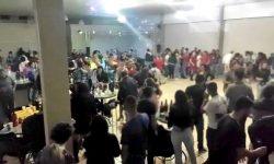 Festas ilegais são interrompidas pela fiscalização no fim de semana em Cascavel