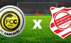 Ouça os gols do jogo: Cascavel vs Rio Branco