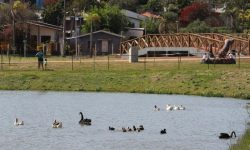 Ação da ONG Amigos dos Rios do Ecopark Oeste de Cascavel