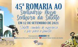 45º romaria ao santuário Nossa Senhora da Salette em Braganey
