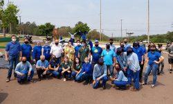 Secretaria Municipal do Meio Ambiente participa de ação de limpeza da Bacia do Rio Cascavel