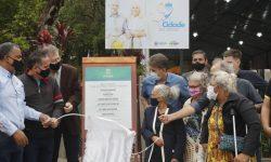 Reinauguração do Parque Tarquínio com a inauguração da Cidade do idoso