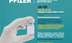 PMI anuncia 3ª dose para imunossuprimidos e vacinação de adolescentes com comorbidades