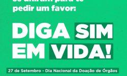 Prefeituras do Paraná se unem em campanha pela doação de órgãos